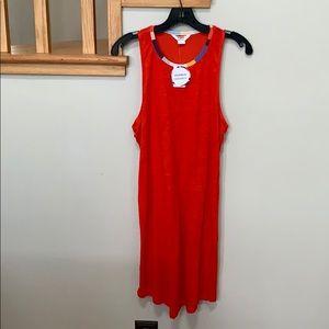 Beautiful red linen dress by splendid